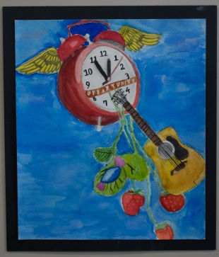 Chief Sealth Int'l H.S. artists at Graystone Mortgage