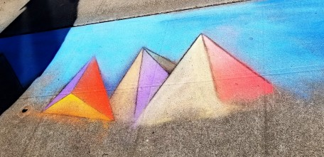 Chalk art by Chris Kelleher