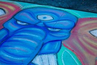 Chalk art by Josh E.