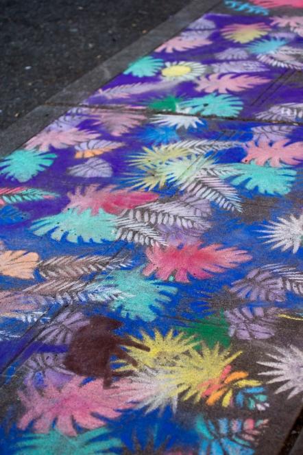 Chalk art by Merkuria Czerwińska