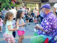 Bubbleman at Summerfest