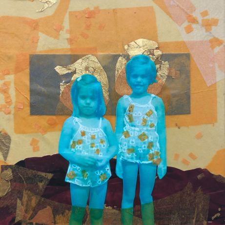 Anita West and D. Lisa West at Wallflower Custom Framing
