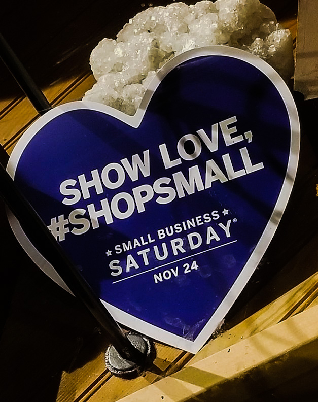 Mark your calendar for Small Business Saturday November 24!