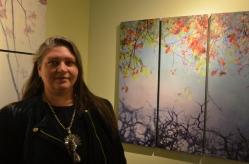 Tara McDermott at Wallflower Custom Framing