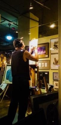 Patrick Woods at Wallflower Custom Framing