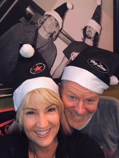 Karen Mason Blair with Matt Vaughan at Easy Street Records