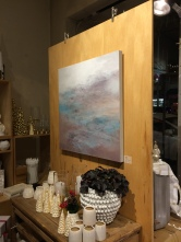 Magdalena Cooney at Capers' Group Abstract Invitational