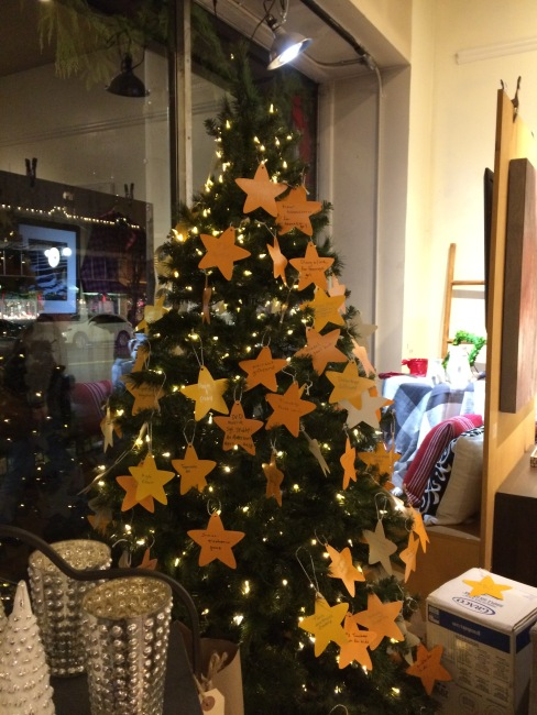Giving Tree at Capers
