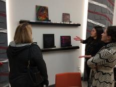Sandrina Reyes at Verity, Art Walk Partner