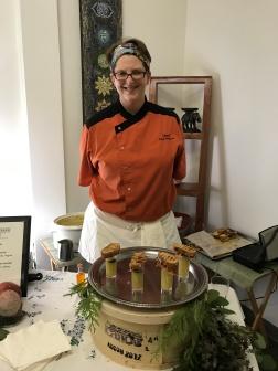 Chef Karen Binkhorst at Inner Alchemy