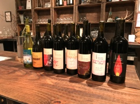 Offerings at Viscon Cellars