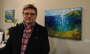 Ivo Janeba at John L. Scott, Art Walk Partner