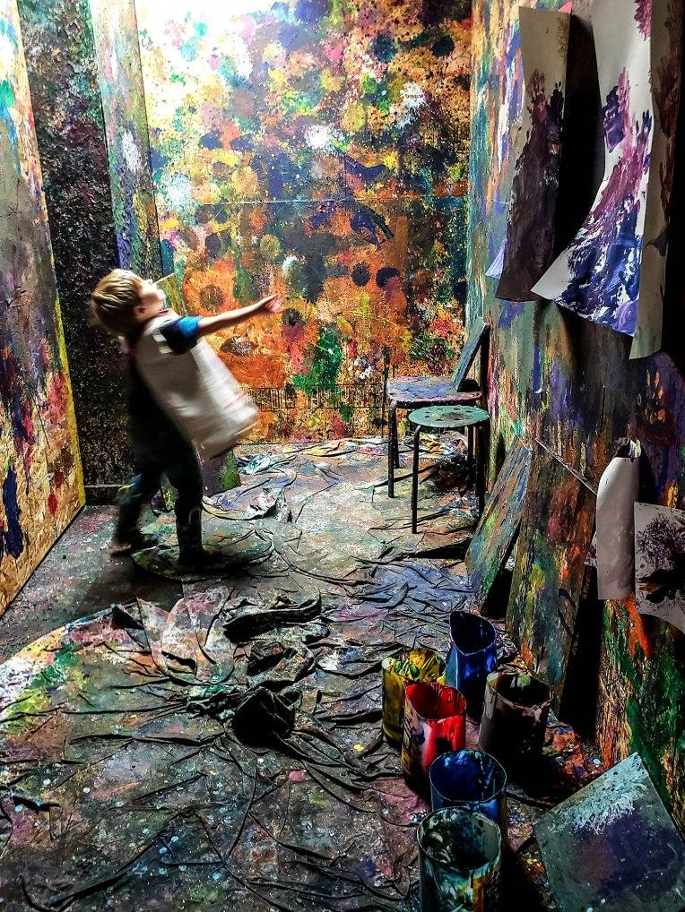 Splatter Room at West Seattle Arts Nest