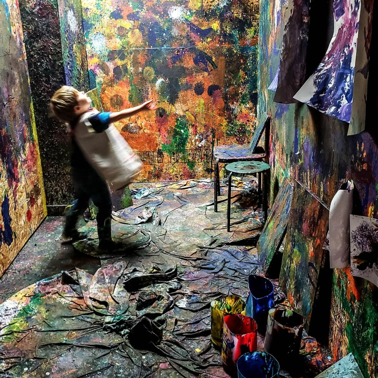 Splatter Room at West Seattle Arts Nest