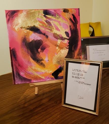 Cariña Booyens at Wallflower Custom Framing