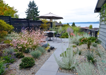 A Mid-Century Rocky Revival, 2019 West Seattle Garden Tour (photo: Nancy Wilcox)