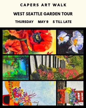 West Seattle Garden Tour at Caper Home