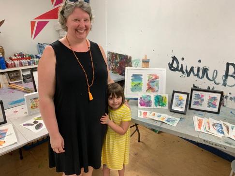 Cara Chamberlin at West Seattle Art Nest