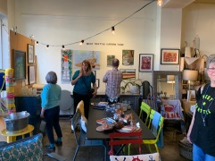 West Seattle Garden Tour Art Competition at Capers Home