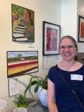 Finalist Suzanne Uschold at Capers Home