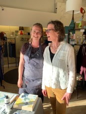 Rachel Austin and Frances Smersh of Click! Design That Fits