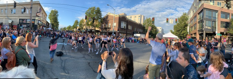 Flash Mob Pano