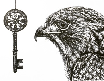 becky_ink_and_paper_keys_and_feathers