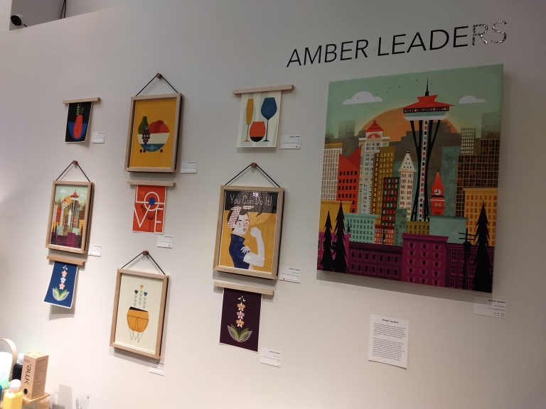 Click Amber Leaders