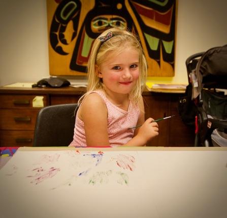 Cuteness at Washington Management's Community Canvas