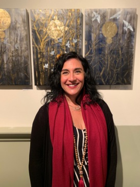 Salyna Gracie at NW Encaustics Gallery, The Building