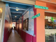 Mural Alley's new street signs!