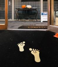 Footprints at Windermere