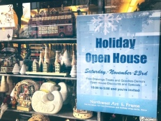Mark your calendars for Holiday Open House at NW Art & Frame!