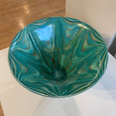 """turned """"Ply Tree"""" bowl by Jed Johnson"""