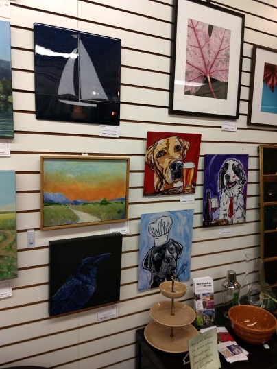 Artists outside the box at Wild Rose's