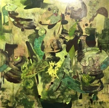 Abstract by Lezlie Jane