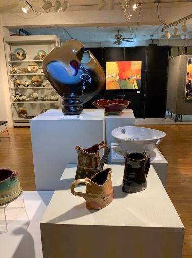 Loren Lukens at Brace Point Pottery