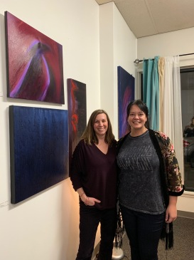 Marianne Maksirisombat and Maari Falsetto at Inner Alchemy