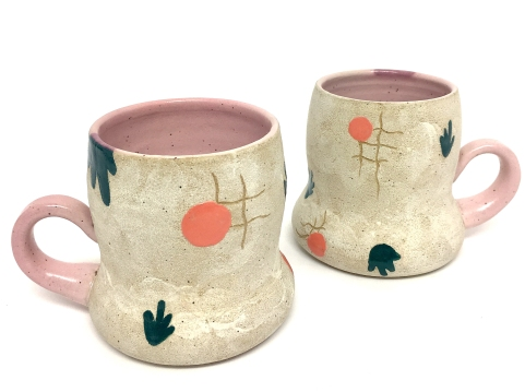 Coco Spadoni at Brace Point Pottery
