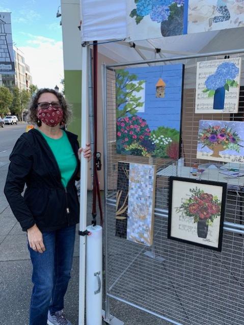 Linda McClamrock in KeyBank Plaza