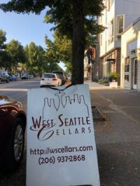 Michael Blatner at West Seattle Cellars