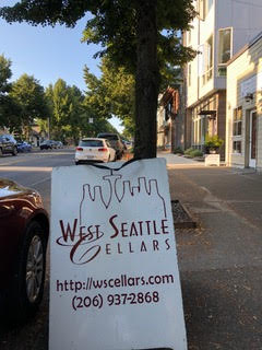 Michael Blatner at West Seattle Cellars