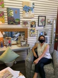 Linda McClamrock, featured Q3 artist at Wild Rose's
